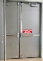 Puertas contra fuego puertas autom ticas motores para for Precio de puertas salida de emergencia